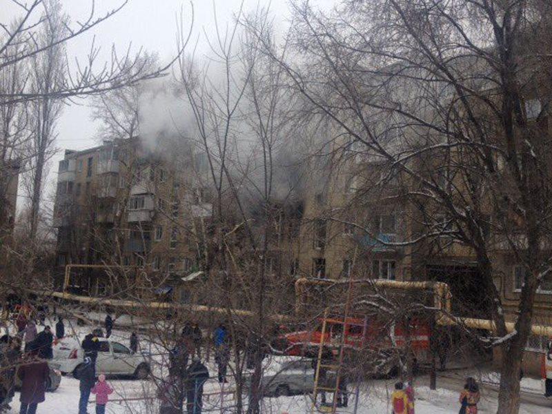 Уже девять человек попало в клинику  после взрыва вСаратове