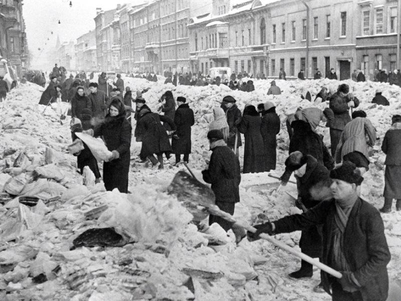 73-я годовщина полного освобождения Ленинграда отблокады