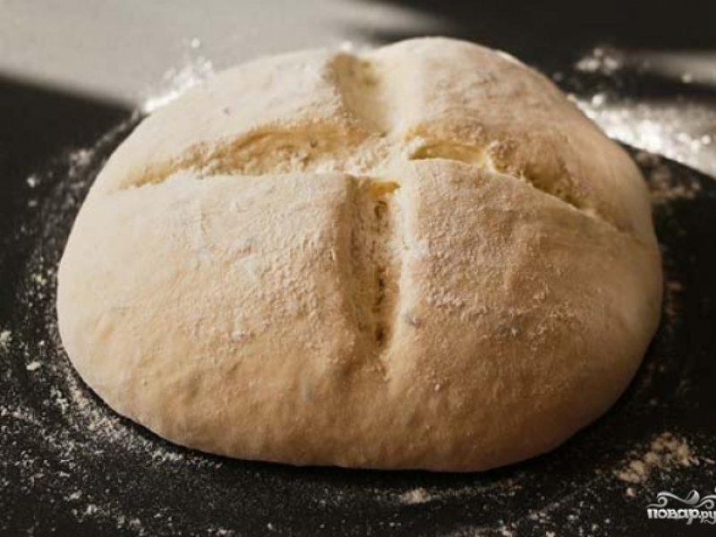 Бездрожжевой хлеб на кефире с фото