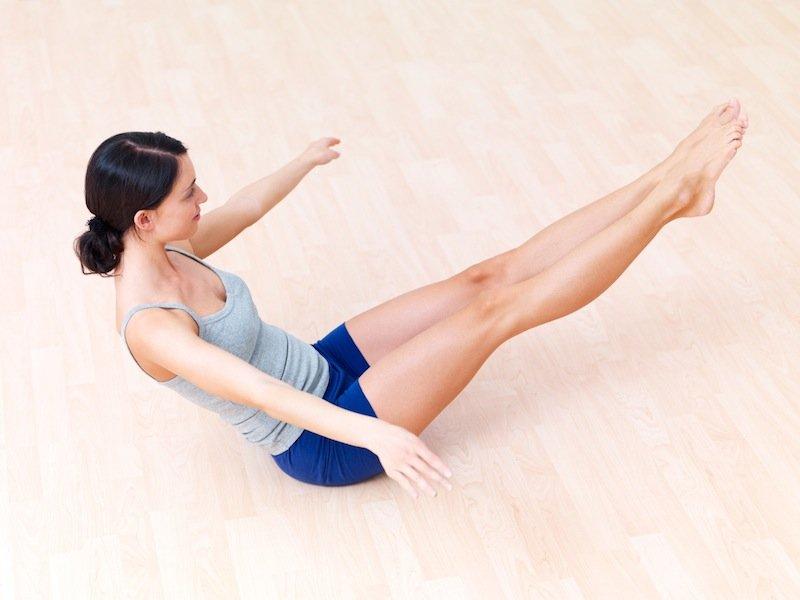 Самые эффективные упражнения для похудения живота, ног и рук