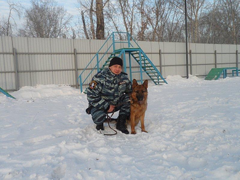 ВКанске служебная собачка помогла разыскать правонарушителя