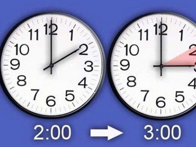 какие регионы россии перевели сегодня стрелки часов на час вперед