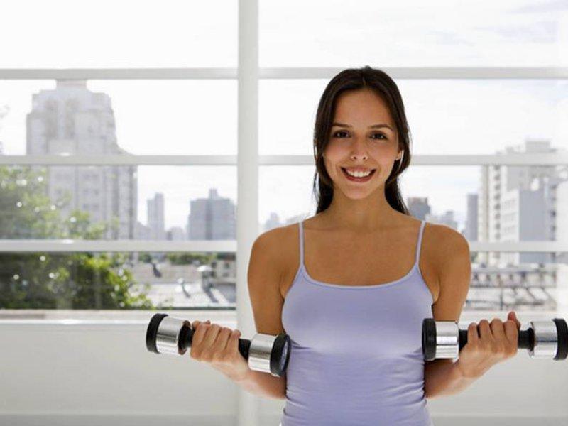 Вес гантелей для женщин для похудения