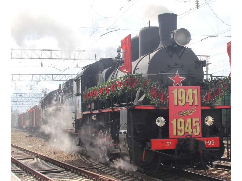 ВСаратов прибудет ретро-поезд «Победа»