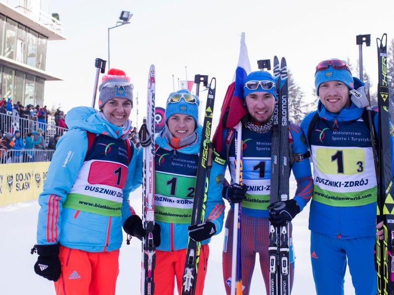 ВСоюзе биатлонистов Российской Федерации  определились ссоставом сборной начемпионат мира
