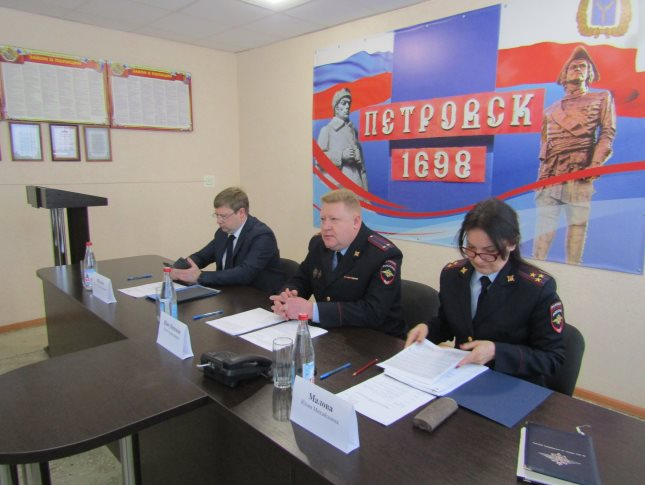 В отделе МВД России по Петровскому району подведены итоги работы за 2019 год